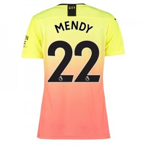 Manchester City Authentic Third Shirt 2019-20 – Womens with Mendy 22 printing