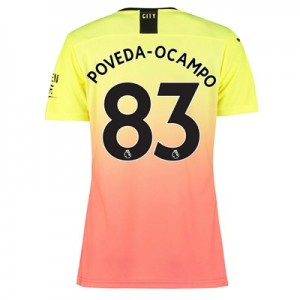 Manchester City Authentic Third Shirt 2019-20 – Womens with Poveda-Ocampo 83 printing