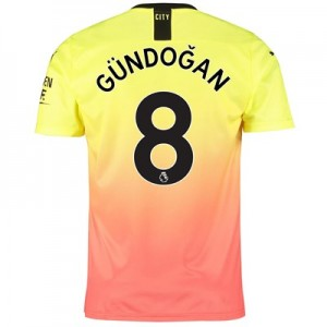 Manchester City Third Shirt 2019-20 with Gündogan 8 printing