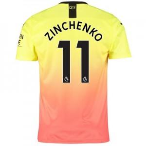 Manchester City Third Shirt 2019-20 with Zinchenko 11 printing