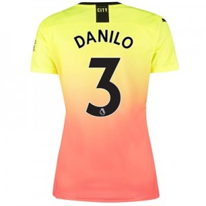 Manchester City Third Shirt 2019-20 – Womens with Danilo 3 printing