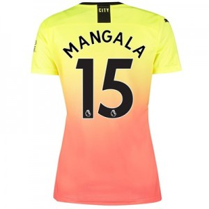 Manchester City Third Shirt 2019-20 – Womens with Mangala 15 printing