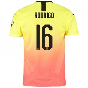 Manchester City Cup Third Shirt 2019-20 with Rodrigo 16 printing