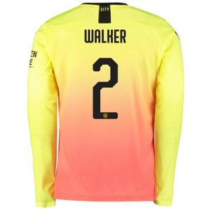 Manchester City Cup Third Shirt 2019-20 – Long Sleeve with Walker 2 printing