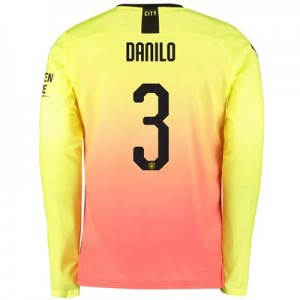 Manchester City Cup Third Shirt 2019-20 – Long Sleeve with Danilo 3 printing