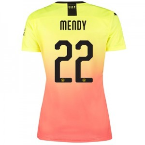 Manchester City Cup Third Shirt 2019-20 – Womens with Mendy 22 printing