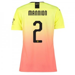 Manchester City Authentic Cup Third Shirt 2019-20 - Womens with Mannion 2 printing