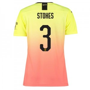 Manchester City Authentic Cup Third Shirt 2019-20 – Womens with Stokes 3 printing