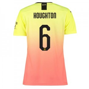 Manchester City Authentic Cup Third Shirt 2019-20 – Womens with Houghton 6 printing