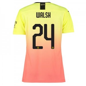 Manchester City Authentic Cup Third Shirt 2019-20 – Womens with Walsh 24 printing