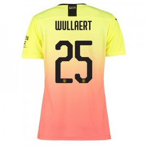 Manchester City Authentic Cup Third Shirt 2019-20 – Womens with Wullaert 25 printing