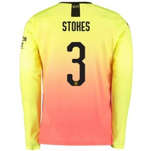 Manchester City Cup Third Shirt 2019-20 – Long Sleeve with Stokes 3 printing