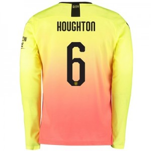 Manchester City Cup Third Shirt 2019-20 – Long Sleeve with Houghton 6 printing
