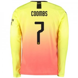 Manchester City Cup Third Shirt 2019-20 – Long Sleeve with Coombs 7 printing