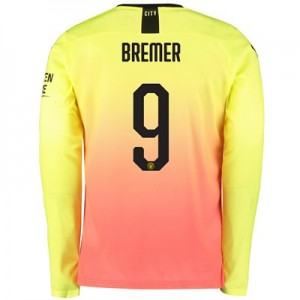 Manchester City Cup Third Shirt 2019-20 – Long Sleeve with Bremer 9 printing
