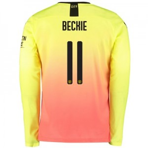Manchester City Cup Third Shirt 2019-20 – Long Sleeve with Beckie 11 printing