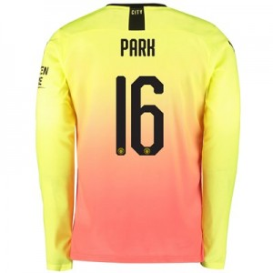 Manchester City Cup Third Shirt 2019-20 – Long Sleeve with Park 16 printing