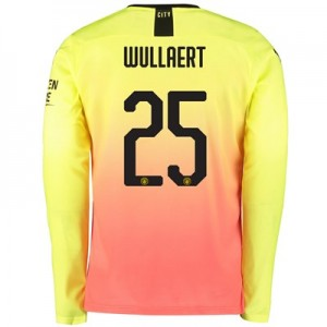Manchester City Cup Third Shirt 2019-20 – Long Sleeve with Wullaert 25 printing