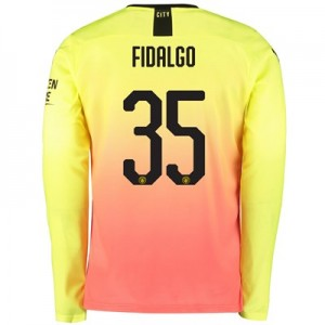 Manchester City Cup Third Shirt 2019-20 – Long Sleeve with Fidalgo 35 printing