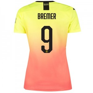 Manchester City Cup Third Shirt 2019-20 – Womens with Bremer 9 printing