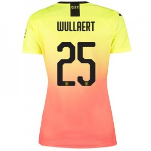Manchester City Cup Third Shirt 2019-20 – Womens with Wullaert 25 printing