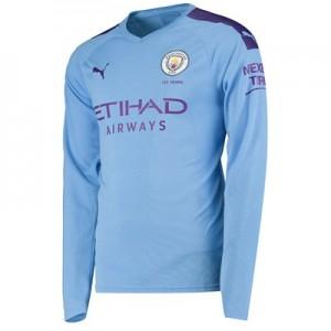 Manchester City Home Shirt 2019-20 - Long Sleeve