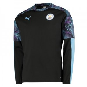 Manchester City Training Rain Top – Black