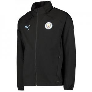 Manchester City Training Rain Jacket – Black