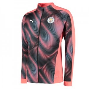 Manchester City Stadium Jacket - Pink