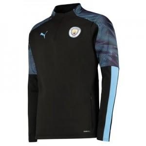 Manchester City Training Fleece - Black