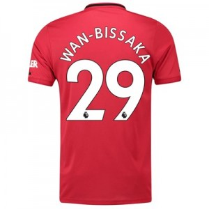 Manchester United Home Shirt 2019 – 20 with Wan-Bissaka 29 printing
