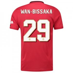 Manchester United Cup Home Shirt 2019 – 20 with Wan-Bissaka 29 printing