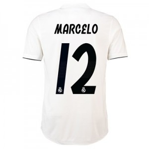Real Madrid Home Adi Zero Shirt 2018-19 with Marcelo 12 printing