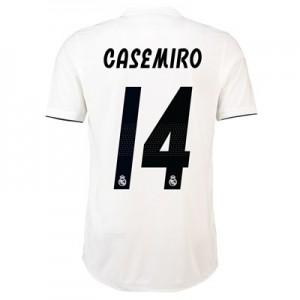Real Madrid Home Adi Zero Shirt 2018-19 with Casemiro 14 printing