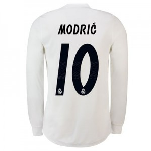 Real Madrid Home Adi Zero Shirt 2018-19 – Long Sleeve with Modric 10 printing