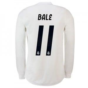 Real Madrid Home Adi Zero Shirt 2018-19 – Long Sleeve with Bale 11 printing