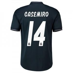 Real Madrid Away Adi Zero Shirt 2018-19 with Casemiro 14 printing