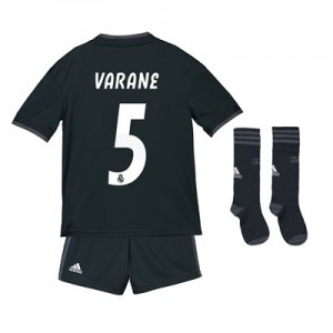 Real Madrid Away Kids Kit 2018-19 with Varane 5 printing