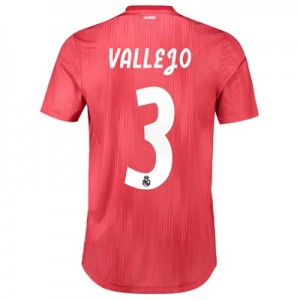 Real Madrid Third Authentic Shirt 2018-19 with Vallejo 3 printing