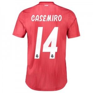 Real Madrid Third Authentic Shirt 2018-19 with Casemiro 14 printing