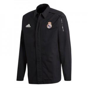 Real Madrid ZNE Woven Anthem Jacket – Black