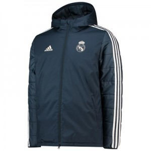 Real Madrid Training Winter Jacket – Dark Grey