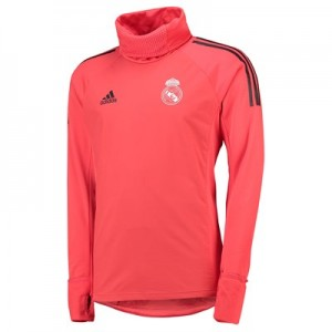 Real Madrid UCL Training Warm Top – Red