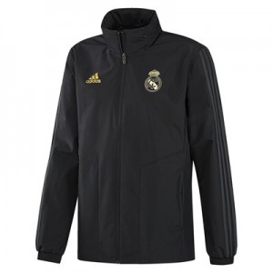 Real Madrid All Weather Training Jacket – Black