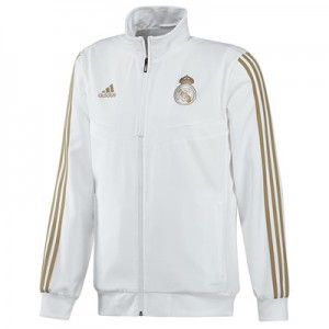 Real Madrid Presentation Jacket – White