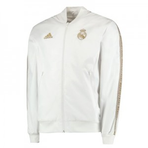 Real Madrid Anthem Jacket - White