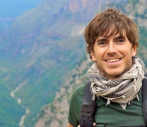 An Audience with Simon Reeve at Victoria Hall