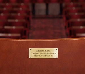 Seat Sponsorship at Edinburgh Playhouse