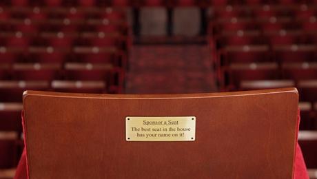 Seat Sponsorship at Edinburgh Playhouse