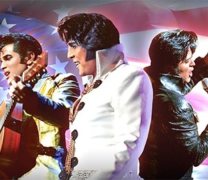 Elvis Tribute Artist World Tour Featuring Shawn Klush and Dean Z at Edinburgh Playhouse